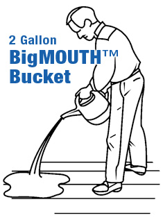 2 Gallon BigMOUTH BUCKET