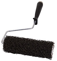 7 inch ruff texture stucco roller with handle