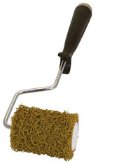 3 inch mini texture stucco roller with cage frame handle