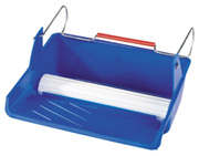 10 inch PadBRUSH Tray loads PadBRUSH Applicators and hangs securely from a ladder