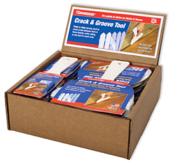 Crack and Groove Tool counter display box