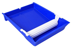 Paint Pad/Roller Tray with 10 inch transfer wheel