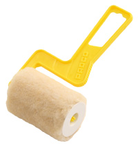 3 inch Mini Roller with plastic yellow handle