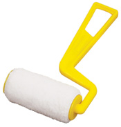 3 inch Nylon Trim Roller with plastic yellow handle