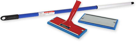 Padco popular painting tools for contractors. Padco Paint Pad, Paint Pad Refill, and Extension Pole.