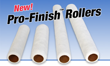 New Pro Finish Rollers