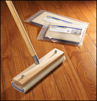 Wood Block Applicator with Nylfoam Pads